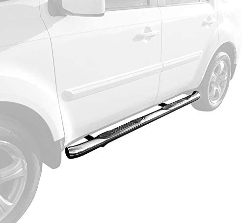2pc with Mounting Bracket Kit MaxMate Premium Compatible with 2016-2020 Honda Pilot Side Step Running Boards Nerf Bars