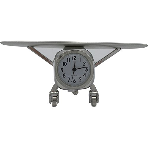 Metal High Wing Airplane Clock (High Wing Airplane)