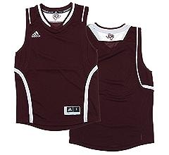 Adidas NCAA Youth Northwestern Wildcats Replica Basketball Blank Jersey