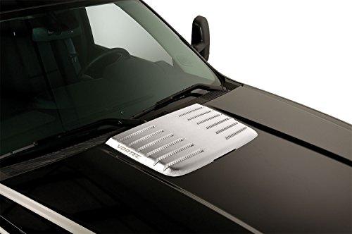 (Putco 403524GM Chrome Hood Deck Vent for Sierra)
