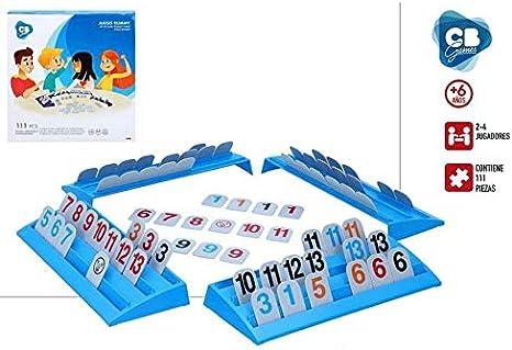 ColorBaby- Juego de Mesa Rummy CB Games (49038): Amazon.es: Juguetes y juegos