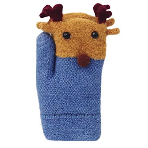 Elf 120 Dvd (Willsa Baby Gloves, Toddler Baby Cute Thicken Stitching Hot Girls Boys of Winter Warm Straps Gloves)