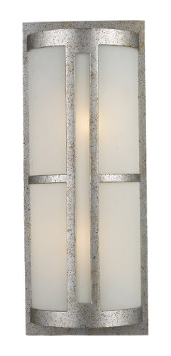 Elk 42096/2 Trevot 1-Light Outdoor Wall Mount In Sunset Silver
