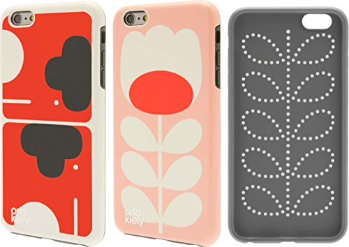 Price comparison product image Orla Kiely Cell Phone Case for iPhone 6/6s Plus - Elephant & Stem Tulip