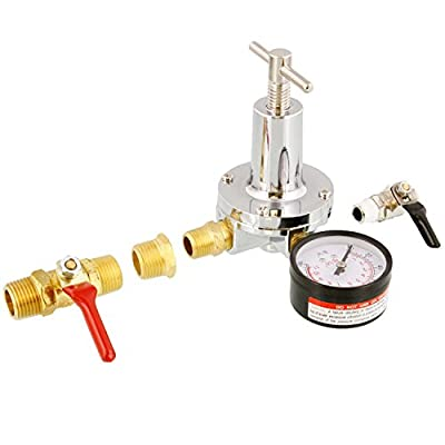 Devilbiss HAR-603 50 cfm Air Regulator with Gauge and Fittings