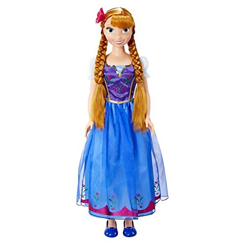 Disney Frozen My Size Anna Doll ()