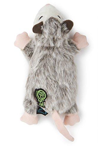 goDog Flatz Opossom Toy with Chew Guard by goDog