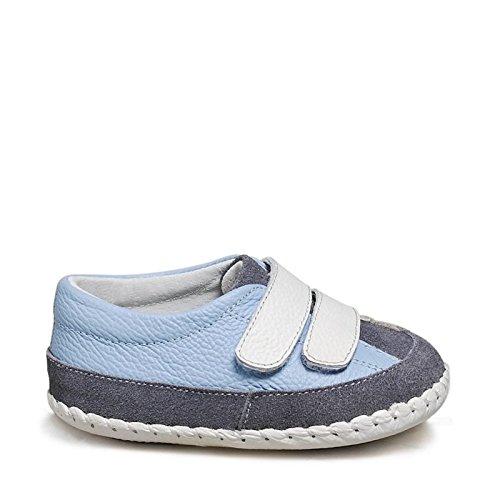 Little Blue Lamb–Zapatos para bebé unidad lernschuhe Zapatillas 31603Azul azul Talla:6-12 meses azul