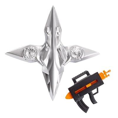 Batman Basic 4-Inch Sky Blade Deathstroke Figure: Toys & Games