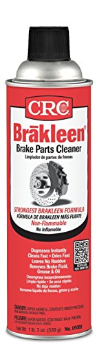 CRC Brakleen Brake Parts Cleaner – Non-Flammable