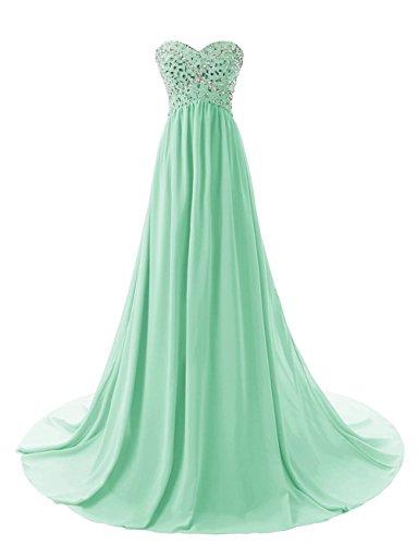 Robes De Bal De Perles Chérie De Femmes Fanciest 2017 Robes De Soirée Formelle Vert