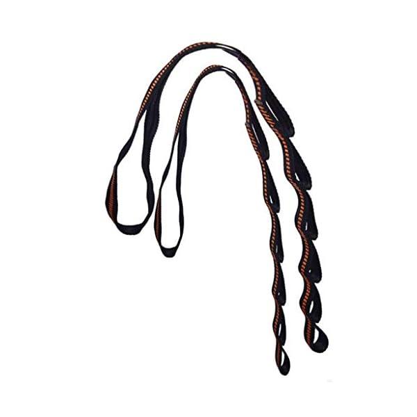 Xiuinserty, Corda regolabile per appendere l'amaca agli alberi, per arrampicata e yoga aereo 3 spesavip
