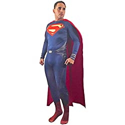 Wraith Of East Adult Superman Costume Cosplay Zentai Cloak