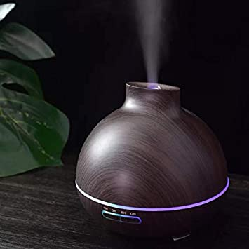400ml Ultraschall Luftbefeuchter 7 Farben Aroma-Diffuser Duftlampe Humidifier