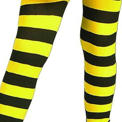 Bumble Bee Tights Costume Accessory - Toddler (Haloween Costume Ideas For Couples)