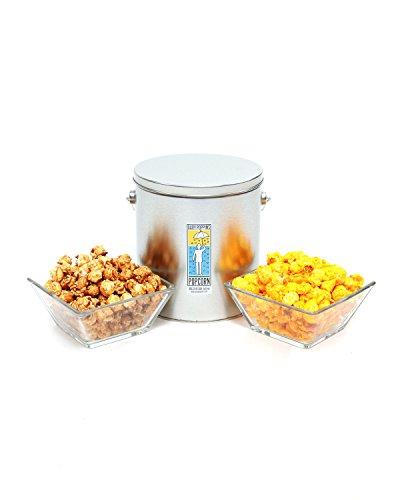 Gary Poppins Popcorn - Gourmet Handcrafted Flavored Popcorn, Caramel Cheddar, 1 Gallon Tin (Gourmet Caramel Popcorn)