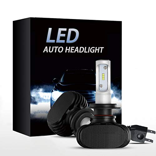 H7 LED Headlight bulbs CSP Conversion kits 8000LM Xenon White Hi/Low Beam Headlamp Bulbs (2-Pack)