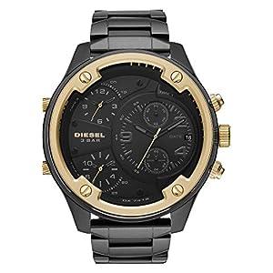 Diesel Reloj Cronógrafo para Hombre de Cuarzo con Correa en Piel 2