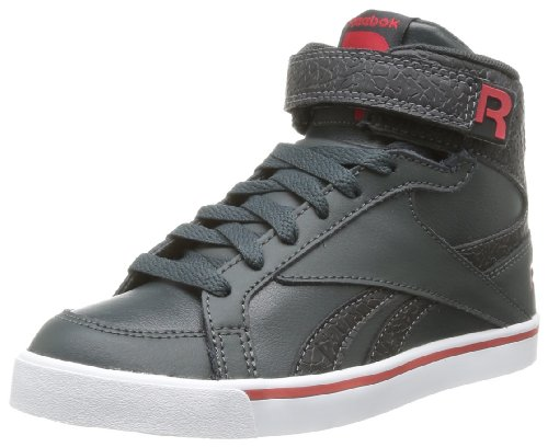Reebok Jungen Jonesboro Gymnastikschuhe Nero  (Noir (Black/Gravel/Red/White/Grey))