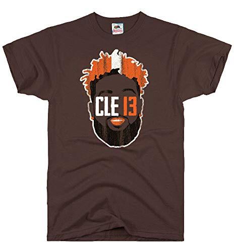 - DirtyRagz Men's Cleveland Browns Beckham Face Jersey T Shirt M Brown