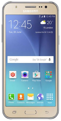 Samsung Galaxy J7 (16GB) J700F - 5.5' Dual SIM Unlocked Smartphone, International Model (Gold)