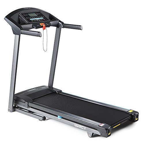 Marcy Folding Motorized Treadmill/Electric Running Machine, Easy Assembly JX-650W