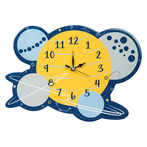 Trend Lab Galaxy Wall Clock, Silent, Battery ()