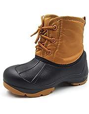 Amoji Boy's Girl's Snow Boots Winter Shoes 9906
