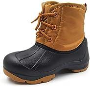 Amoji Boy's Girl's Snow Boots Winter Sh