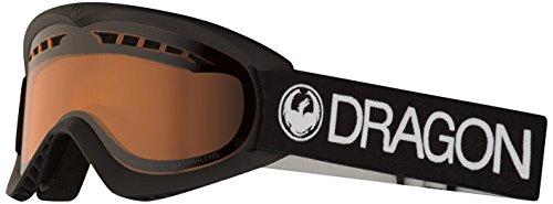 Dragon Alliance DXs Ski Goggles, Black, Black/Luma Amber Lens