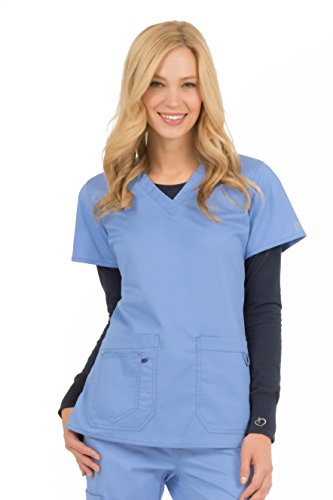 Med Couture Women's 'MC2' Olivia Scrub Top, Ceil, XXXXX-Large from Med Couture
