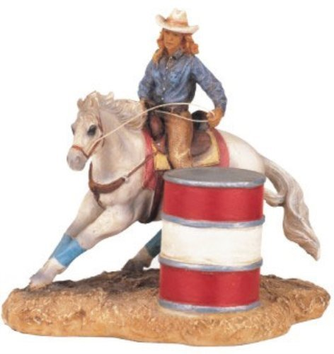 StealStreet SS-G-11383 Cowboy On Horse Collectible Western Rodeo Decoration Figurine Statue