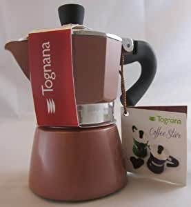 Tognana: Coffee Star 1-Cups Light Brown [ Italian Import ]