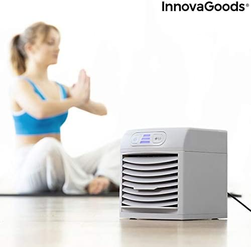 InnovaGoods Climatizador Evaporativo Portátil con LED FreezyQ+ ...