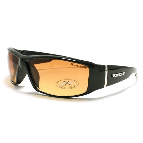 Black HD Vision Lens Driving Sunglasses Clear View