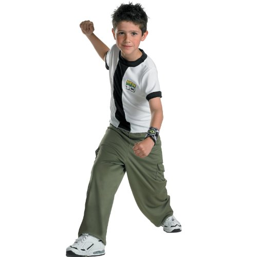 Ben Ten Costume (Ben 10 Classic Costume, Child)