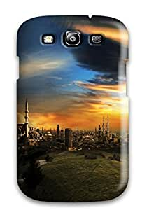 Christmas Gifts Tpu Phone Case With Fashionable Look For Galaxy S3 - City 2135198K72301747