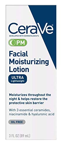 Cerave Facial Moisturizing Lotion Pm Spf#30 3 Ounce (89ml) (2 Pack) ()