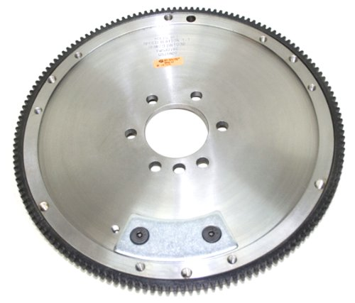 (PRW 1640071 SFI-Rated 32 lbs. 153 Teeth 0-Balance Billet Steel Flywheel for Chevy 265-427 1955-85)