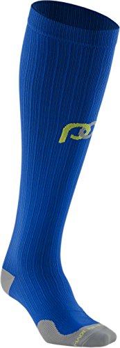 PRO Compression: Marathon (Full-Length, Over-the-Calf) Compression Socks, Royal Blue, Large/X-Large