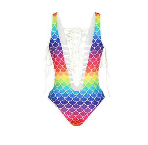 SZH Mujeres Straped One-piezas Swimwear, Sólido / Malla Wireless / acolchado Bras Nylon