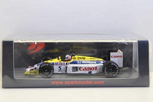 スパークモデル 1/43 ウィリアムズe FW11 1986 F1 ベルギーGP ウィナー 5 N.マンセルS7481204E9