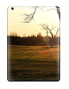 Ipad Air Cases, Premium Protective Cases With Awesome Look - Golf Course Sunset