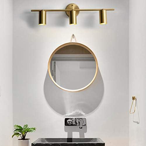 FDOI Espejo Luz Delantera, lámpara de Pared Lámpara de Pared de Sala de Estar Toda la Tienda de Ropa de Cobre Espejo Faros Lámpara de Pista Mural Pasillo Luces de Pasillo