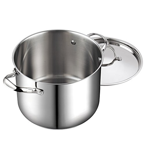 Cooks Standard 12-Quart Classic Stainless Steel Stockpot with Lid by Cooks Standard (Image #2)