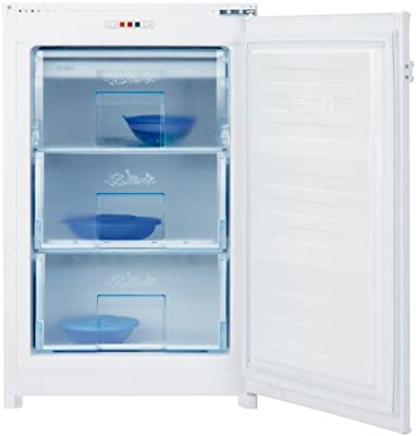 Beko B 1901 - Congelador (Vertical, Incorporado, Color blanco, 85L ...