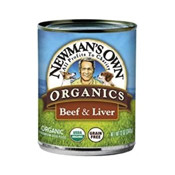 Newman S Own Organics Beef And Liver Grain Free For Dogs