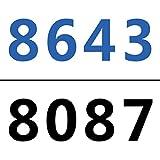 10Gtek Internal Mini SAS HD SFF-8643 to Mini SAS SFF-8087 Cable, 0.8-Meter(2.6ft), Foldable, Flexible, 2 Pack