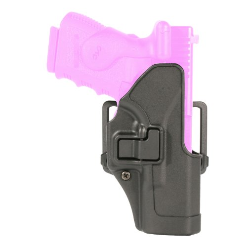 BlackHawk Serpa CQC Belt Loop and Paddle Carbon Fiber Holster For Glock 19/23/32/36 Right Hand Black