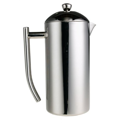 Frieling French Press Polished Finish Mirrored Finish Coffee Press 44 oz (Frieling Steel Pitcher)